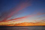 Lighthouse Point, Santa Cruz at sunset