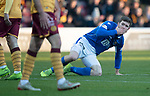 Motherwell v St Johnstone…..30.11.19   Fir Park   SPFL<br />Anthony Ralston reacts to his missed chance<br />Picture by Graeme Hart.<br />Copyright Perthshire Picture Agency<br />Tel: 01738 623350  Mobile: 07990 594431