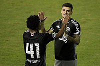 Volta Redonda (RJ), 03/04/2021 - VASCO-BANGU - Gabriel Pec, do Vasco, comemora gol. Partida entre Vasco e Bangu, válida pela oitava rodada da Taça Guanabara, realizada no Estádio Raulino de Oliveira, em Volta Redonda, neste sábado (03).