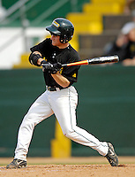 21 April 2007: University of Vermont Catamounts' Bryan Rembisz, a Senior from Clinton, CT, in action against the University of Hartford Hawks at Historic Centennial Field, in Burlington, Vermont...Mandatory Photo Credit: Ed Wolfstein Photo
