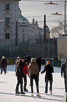 Europe/Autriche/Niederösterreich/Vienne: La patinoire