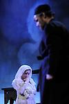 UN VIOLON SUR LE TOIT..Auteur : STEIN Joseph..Adaptateur : LAPORTE Stephane..Mise en scene : DESCHAUX Jeanne..Decor : TAPIERMAN Serge..Avec :..WILMET Alain:TEVYE le laitier..NOBLES Dominique:GOLDE la laitiere..MUNIER Amelie:TZEITEL..FILOU Charlotte:HODEL 2eme fille..CAIHOL Vanessa:CHAVA la cadette..COHEN Laurence:GRAND-MERE TZEITEL..LEVY Kevin:Mr KAMZOIL le tailleur..AMAR Yoni:PERCHIK l'etudiant..NUS Johan:FYEDKA le jeune russe..BOUFFARD Francine:YENTE la marieuse..FERNANDEZ Sebastien:LE RABIN..HUSSER Julien:MENDEL fils du rabbin..ABURBE Robert:LAZAR WOLF le boucher..HORRY Cloe:FRUMA SARAH..BORIE Christophe:MORDECHA l'aubergiste..BABOLAT Pierre:LE COMMISSAIRE..ZOLTAN Zmarzlik:AVRAM le libraire..OUAKI Adrien:LE MANDIANT..WEIBER Melodie:LA VILLAGEOISE..METRO Stephane:Doublure du COMMISSAIRE..LE BORGNE Serge:Doublure de AVRAM et Danseur..REGGIANI Jeanne:Doublure de FRUMA SARAH..DESPLANCHE Bruno:Doublure COMMISSAIRE..Lieu : Le Palace..Ville : Paris..Le : 18 02 2010..© Laurent PAILLIER / photosdedanse.com..All rights reserved