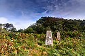 Standing Stone at Goonhilly Satellite earth station in Helston in Cornwall  CREDIT Geraint Lewis