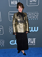 SANTA MONICA, USA. January 12, 2020: Kris Moran at the 25th Annual Critics' Choice Awards at the Barker Hangar, Santa Monica.<br /> Picture: Paul Smith/Featureflash