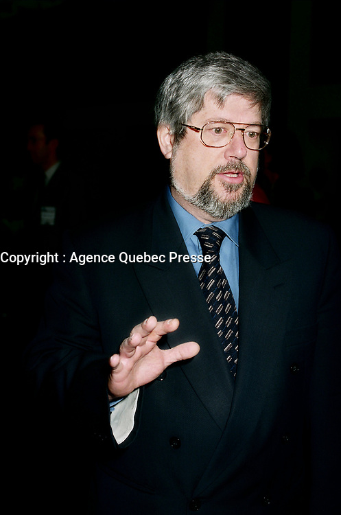 Montreal (Qc) CANADA -March 26, 1999<br /> -File Photo -<br /> <br /> Guy Julien, Quebec Industry Minister at Americana 1999