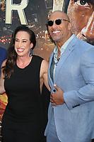 Dany Garcia Dwayne Johnson <br /> Skyscraper premiere<br /> 7-10- 2018<br /> Photo By John Barrett/PHOTOlink.net