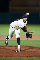 Scottsdale Scorpions pitcher Ray Black (53) delivers a pitch during an Arizona Fall League game against the Mesa Solar Sox on October 20, 2015 at Scottsdale Stadium in Scottsdale, Arizona.  Mesa defeated Scottsdale 5-4.  (Mike Janes/Four Seam Images)