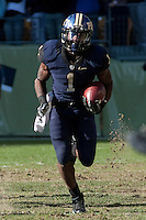 Pitt running back Ray Graham. The WVU Mountaineers defeated the Pitt Panthers 35-10 at Heinz Field, Pittsburgh, Pennsylvania on November 26, 2010.