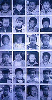 This photo montage shows 24 baby boys, rescued by from a kidnapping syndicate, that operated in a remote region of China. The syndicate stole the young boys and sold them in the country-side.