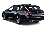 Car pictures of rear three quarter view of a 2019 Buick Regal TourX Essence 5 Door Wagon angular rear