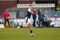 20th February 2021; Dens Park, Dundee, Scotland; Scottish Championship Football, Dundee FC versus Queen of the South; Jason Cummings of Dundee celebrates after scoring for 2-1