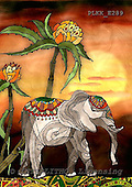 Kris, ETHNIC, paintings,+elephant++++,PLKKE289,#ethnic# étnico, illustrations, pinturas