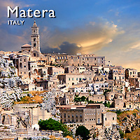 Matera Sassi Pictures, Images & Photos. Italy
