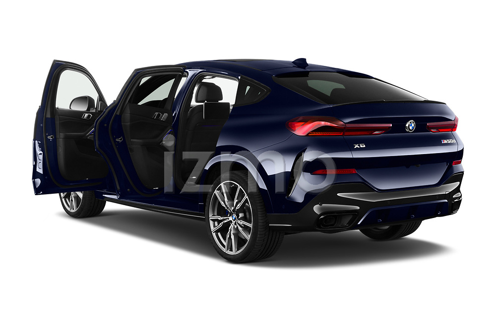 Car images close up view of a 2020 BMW X6 Base 5 Door SUV doors