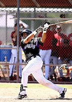 Wilin Rosario / Colorado Rockies 2008 Instructional League..Photo by:  Bill Mitchell/Four Seam Images