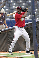 Nashville Sounds outfielder Tony Gwynn Jr during practice before the Triple-A All-Star Game at Fifth Third Field on July 12, 2006 in Toledo, Ohio.  (Mike Janes/Four Seam Images)