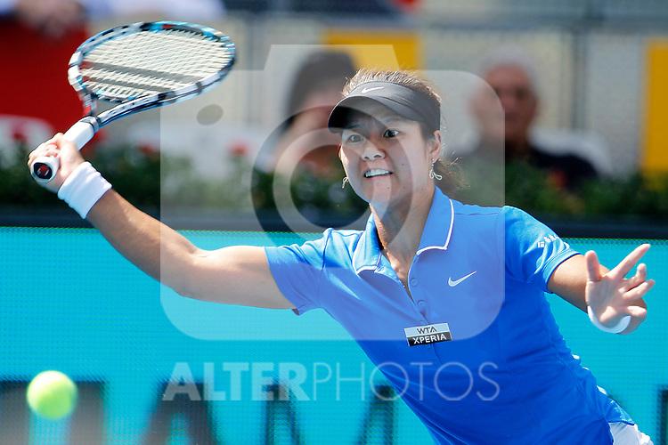 Na LI during Madrid Open Tennis 2012 Match.May, 11, 2012(ALTERPHOTOS/ALFAQUI/Acero)