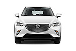 Car photography straight front view of a 2015 Mazda CX-5 Skycruise 5 Door Suv Front View