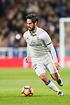 Isco of Real Madrid in action during the La Liga match between Real Madrid and RC Deportivo La Coruna at the Santiago Bernabeu Stadium on 10 December 2016 in Madrid, Spain. Photo by Diego Gonzalez Souto / Power Sport Images
