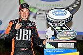 2017 NASCAR Camping World Truck Series - Active Pest Control 200<br /> Atlanta Motor Speedway, Hampton, GA USA<br /> Saturday 4 March 2017<br /> Christopher Bell in victory lane<br /> World Copyright: Nigel Kinrade/LAT Images