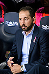 Sevilla Head Coach Pablo Machin during the La Liga 2018-19 match between FC Barcelona and Sevilla FC at Camp Nou Stadium on October 20 2018 in Barcelona, Spain. Photo by Vicens Gimenez / Power Sport Images