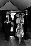 HELMUT BERGER CON BIANCA PEREZ JAGGER<br /> JACKIE O' ROMA 1974