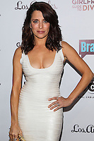 LOS ANGELES, CA, USA - NOVEMBER 18: Alanna Ubach arrives at the Los Angeles Premiere Of Bravo's 'Girlfriends' Guide to Divorce' held at the Ace Hotel on November 18, 2014 in Los Angeles, California, United States. (Photo by Celebrity Monitor)