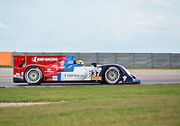 Kirill Laygin / Viktor Shaitar / Anton Laygin of SMP Racing driving (37) Oreca 03R - Nissan during FIA World Endurance Challenge free practice #1, Thursday, September 18, 2014 in Austin, Tex. (Mo Khursheed/TFV Media via AP Images)