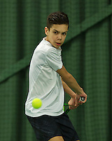 Rotterdam, The Netherlands, March 18, 2016,  TV Victoria, NOJK 14/18 years, Jay Zwinkels (NED)<br /> Photo: Tennisimages/Henk Koster