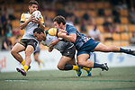 Penguin International vs Taikoo Place Scottish Exiles during their Cup Quarter-final as part of the GFI HKFC Rugby Tens 2017 on 06 April 2017 in Hong Kong Football Club, Hong Kong, China. Photo by Juan Manuel Serrano / Power Sport Images