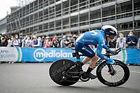 Einer Augusto Rubio (COL/Movistar)<br /> <br /> 104th Giro d'Italia 2021 (2.UWT)<br /> Stage 1 (ITT) from Turin to Turin (8.6 km)<br /> <br /> ©kramon