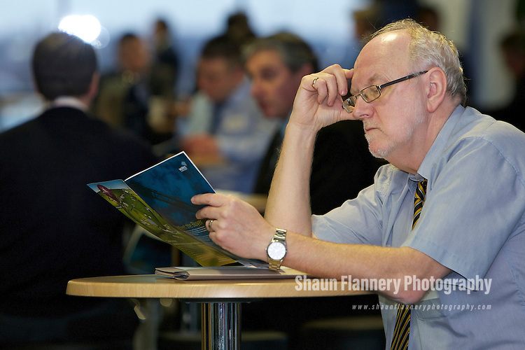 Pix: Shaun Flannery/shaunflanneryphotography.com...COPYRIGHT PICTURE>>SHAUN FLANNERY>01302-570814>>07778315553>>..13th January 2011..........Wates Construction - Meet The Buyer event, Doncaster Racecourse.