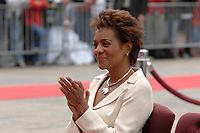 Ottawa (ON) CANADA, July 1st, 2007 -<br /> <br /> Michaelle Jean Governor  during<br /> Canada day celebration in the national capital.<br /> photo : (c)  Michel Karpoff - Images Distribution
