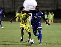 ITAGÜI - COLOMBIA, 24-07-2021: Itagüi Leones F.C. y Orsomarso S. C. durante partido de la fecha 1 por el Torneo BetPlay DIMAYOR II 2021 en el estadio Metropolitano de Itagüi en la ciudad de Itagüi. / Itagüi Leones F.C. and Orsomarso S.C. during a match of the 1st date for the BetPlay DIMAYOR II 2021 Tournament at the Metropolitano de Itagüi stadium in Itagüi city. / Photo: VizzorImage / Juan A. Cardona / Cont.