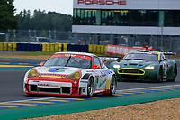 #76 JEAN-LOU RIHON / NICK PADMORE - PORSCHE / 996 GT3-RS / 2005 GT2B