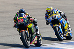 Monster Yamaha Tech 3's rider Hafizh Syahrin (L) of Malaysia and EG 0,0 Marc VDS' rider Tom Luthi of Switzerland ride during the MotoGP Official Test at Chang International Circuit on 16 February 2018, in Buriram, Thailand. Photo by Kaikungwon Duanjumroon / Power Sport Images