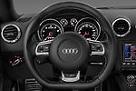Steering wheel view of a 2010 - 2014 Audi TT RS 3 Door Coupe 4WD.