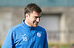 St Johnstone Training….28.10.16<br />Paul Paton pictured during training this morning at McDiarmid Park ahead of tomorrow's game against his old club Partick Thistle.<br />Picture by Graeme Hart.<br />Copyright Perthshire Picture Agency<br />Tel: 01738 623350  Mobile: 07990 594431