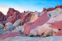 Sunrise over Valley of fire State Park, Nevada