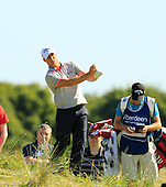 Alex NOREN (SWE) during the quarter final round of the Aberdeen Asset Management Paul Lawrie Matchplay being played over the Fidra Links at Archerfield, East Lothian from 4th to 7th August 2016:  Picture Stuart Adams, www.golftourimages.com: 06/08/2016