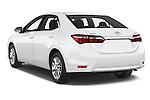 Car pictures of rear three quarter view of a 2014 Toyota Corolla Comfort 4 Door Sedan 2WD Angular Rear