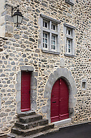 Europe, France, Aquitaine, Pyrénées-Atlantiques, Béarn, Borce/ Maison du village // Europe, France, Aquitaine, Pyrenees Atlantiques, Bearn, Borce: regional house