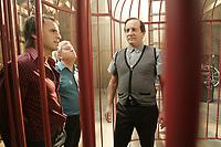 Montreal (Qc) Canada - August 17 2010 -Le Sens de l'Humour, directed by Emile Gaudreault -  Louis-Josee Houde, Benoit Briere, Michel Cote<br /> <br /> <br /> <br /> PHOTO :  Agence Quebec Presse