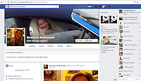 """Pictured: The facebook page of Boudicca Scherazade, calling herself """"The Storage Stalker""""<br /> Re: A Storage Hunters star is in court accused of bombarding a younger antiques dealer with kinky texts and voice messages in a three-year stalking campaign.<br /> 47 year old Boudicca Scherazade, who has appeared in the UK version of the popular US show, allegedly fell for Laurence Roche after meeting him through work but became enraged when he didn't return her affection.<br /> The trial at St Albans Magistrates Court continues."""