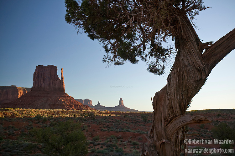 The mittens in Monument Valley National Park