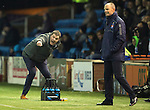 Kilmarnock v St Johnstone...06.12.14   SPFL<br /> Tommy Wright and Alan Johnston<br /> Picture by Graeme Hart.<br /> Copyright Perthshire Picture Agency<br /> Tel: 01738 623350  Mobile: 07990 594431