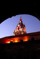 CARTAGENA-COLOMBIA-07-02-2007. Cúpula de la Catedral San Pedro Claver, en la Ciudad de Cartagena, Departamento de Bolivar,  CO, Colombia, on February 7, 2007. Dome of the Cathedral of St. Pedro Claver, in the city of Cartagena, Bolivar Department, CO, Colombia, on February 7, 2007. (Photo: VizzorImage/Luis Ramirez).