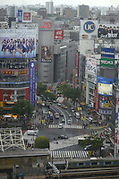 SHIBUYA CITY VIEW FROM ABOVE