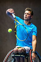Alphen aan den Rijn, Netherlands, December 21, 2019, TV Nieuwe Sloot,  NK Tennis, Wheelchair, men's single,  Ruben Spaargaren (NED)<br /> Photo: www.tennisimages.com/Henk Koster
