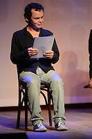 RIO DE JANEIRO-25/06/2012-Matheus Nachtergaele no evento de reabertura do Teatro Ipanema, palco de grandes momentos da historia teatral carioca, em Ipanema, zona sul do Rio.Foto:Marcelo Fonseca-Brazil Photo Press